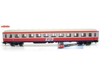 Marklin H0 4221 V2 Reizigersrijtuig 2de Klas - Modeltreinshop