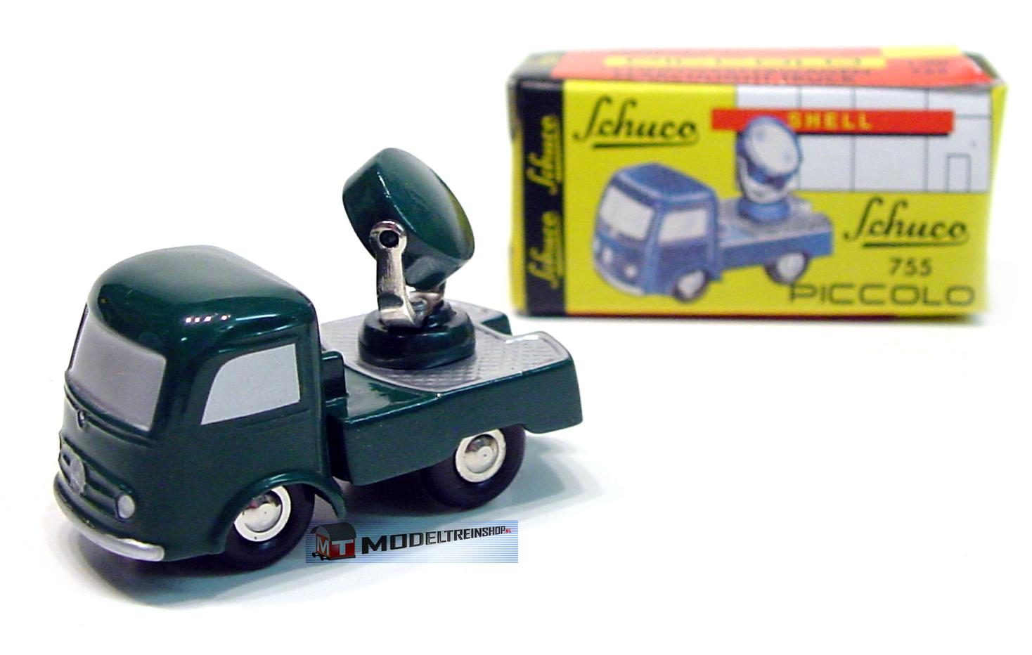 Schuco 05161 Piccolo Zoeklichtwagen Modellauto Metall 1:90 - Modeltreinshop
