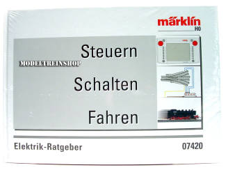 Marklin H0 07420 Boek Regelen Schakelen in het Duits - Modeltreinshop