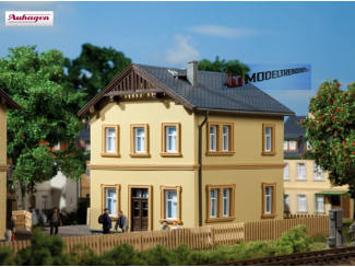 Auhagen HO 11349 Spoor controleurs woning - Modeltreinshop