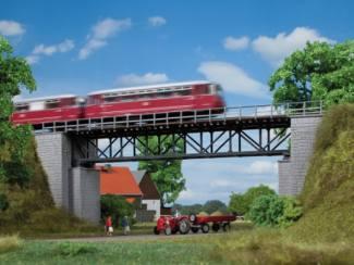 Auhagen HO 11364 Vakwerkbrug 215mm - Modeltreinshop