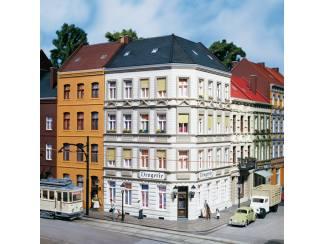 Auhagen HO 11398 Hoekhuis Schmidtstrasse 25 - Modeltreinshop