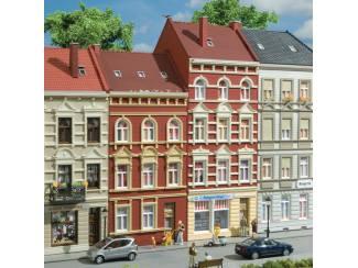 Auhagen HO 11417 Herenhuis Schmidtstrasse 27 - 29 - Modeltreinshop