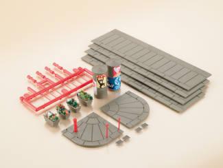Auhagen HO 12254 Voetpad met Accessoires - Modeltreinshop
