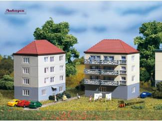 Auhagen N 14464 Flatgebouw - Modeltreinshop