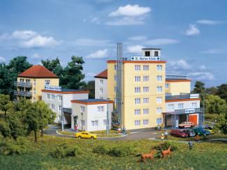 Auhagen N 14466 Marien Klinik Ziekenhuis - Modeltreinshop