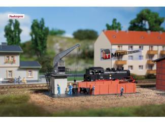 Auhagen N 14473 Bekoling Station - Modeltreinshop