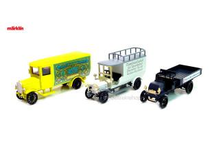 Marklin H0 1889 Old Timer Vrachtwagen Set - MHI 1992 - Modeltreinshop