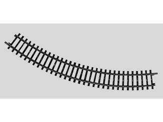 Marklin K rail Gebogen industriële cirkel R = 295,4 mm, 45 ° - Modeltreinshop