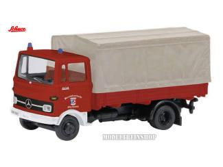 """Schuco H0 22371 Mercedes Benz LP 608 """"Feuerwehr"""" - Modeltreinshop"""