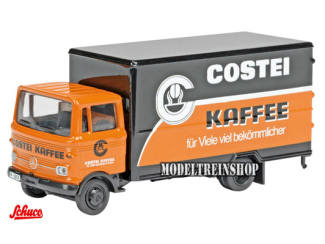 Schuco H0 22374 Mercedes Benz LP 608 Costei Kaffee - Modeltreinshop