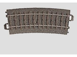 Marklin C Rail 24115 Gebogen rail 360mm / 15° - Modeltreinshop