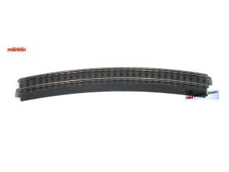 Marklin C Rail 24230 Gebogen rail 473,5 mm - Modeltreinshop