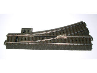 Marklin C Rail 24611 Wissel links 188,3 mm R2 = 437,5 mm - Modeltreinshop
