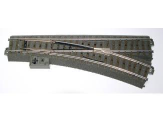 Marklin C Rail 24612 Wissel rechts 188,3 mm R2 = 437,5 mm - Modeltreinshop