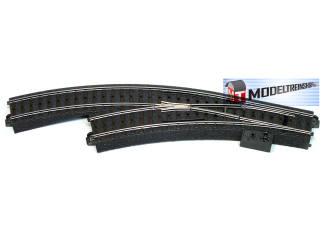 Marklin C Rail 24671 Meegebogen wissel links 360 mm - Modeltreinshop