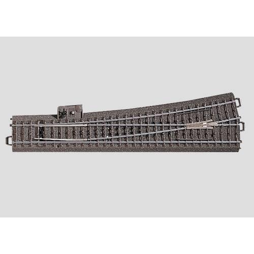 Marklin C Rail 24711 Slanke wissel links 236,1 mm - Modeltreinshop