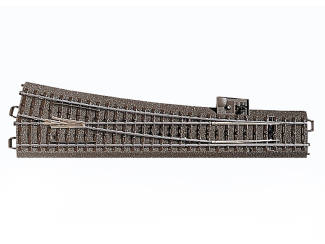 Marklin C Rail 24712 Slanke wissel rechts 236,1 mm - Modeltreinshop