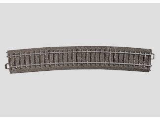 Marklin C Rail 24912 Gebogen rail Radius 1114,6 mm - Modeltreinshop