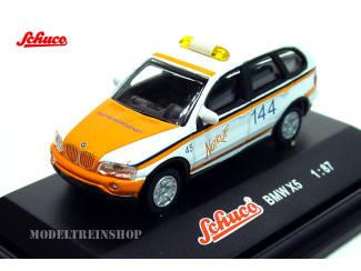 Schuco H0 25158 BMW X5 Notruf 144 - Modeltreinshop