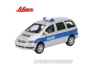 Schuco H0 25394 VW Sharan Polizei - Modeltreinshop