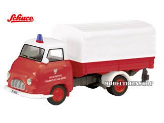 Schuco H0 25733 Hanomag Kurier Feuerwehr - Modeltreinshop