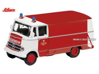 Schuco H0 25786 Mercedes Benz L319 Feuerwehr - Modeltreinshop