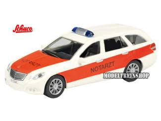 "Schuco H0 Schuco 25822 Mercedes Benz T-Model ""Notarzt"" - Modeltreinshop"