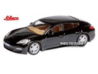Schuco H0 25842 Porsche Panamera Zwart - Modeltreinshop