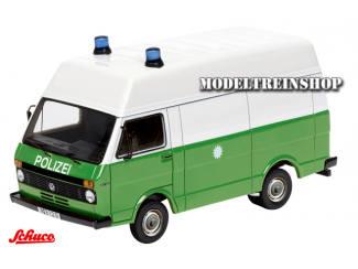 """Schuco H0 25875 Volkswagen LT """"Polizei"""" - Modeltreinshop"""