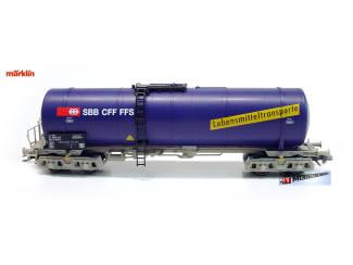 29484-03-1AMarklin H0 29494 Tankgwagen Uacs 4 assen voor levensmiddelenvervoer - Modeltreinshop