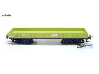 Marklin H0 29652 Lageboordwagen Claas 4 assen - Modeltreinshop