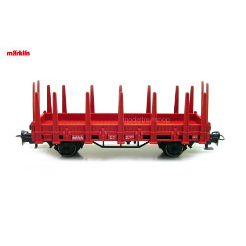 Marklin H0 29752 Rongenwagen Met Container Brandweer - Modeltreinshop