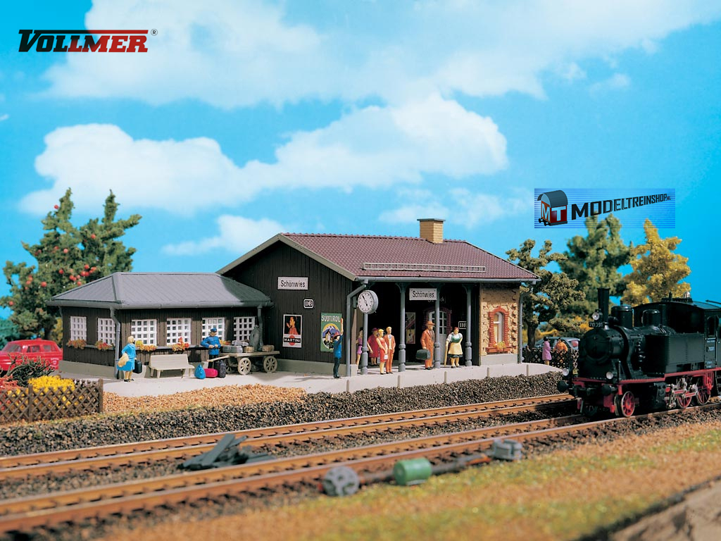 Vollmer HO 3525 Station Schönwies - Modeltreinshop