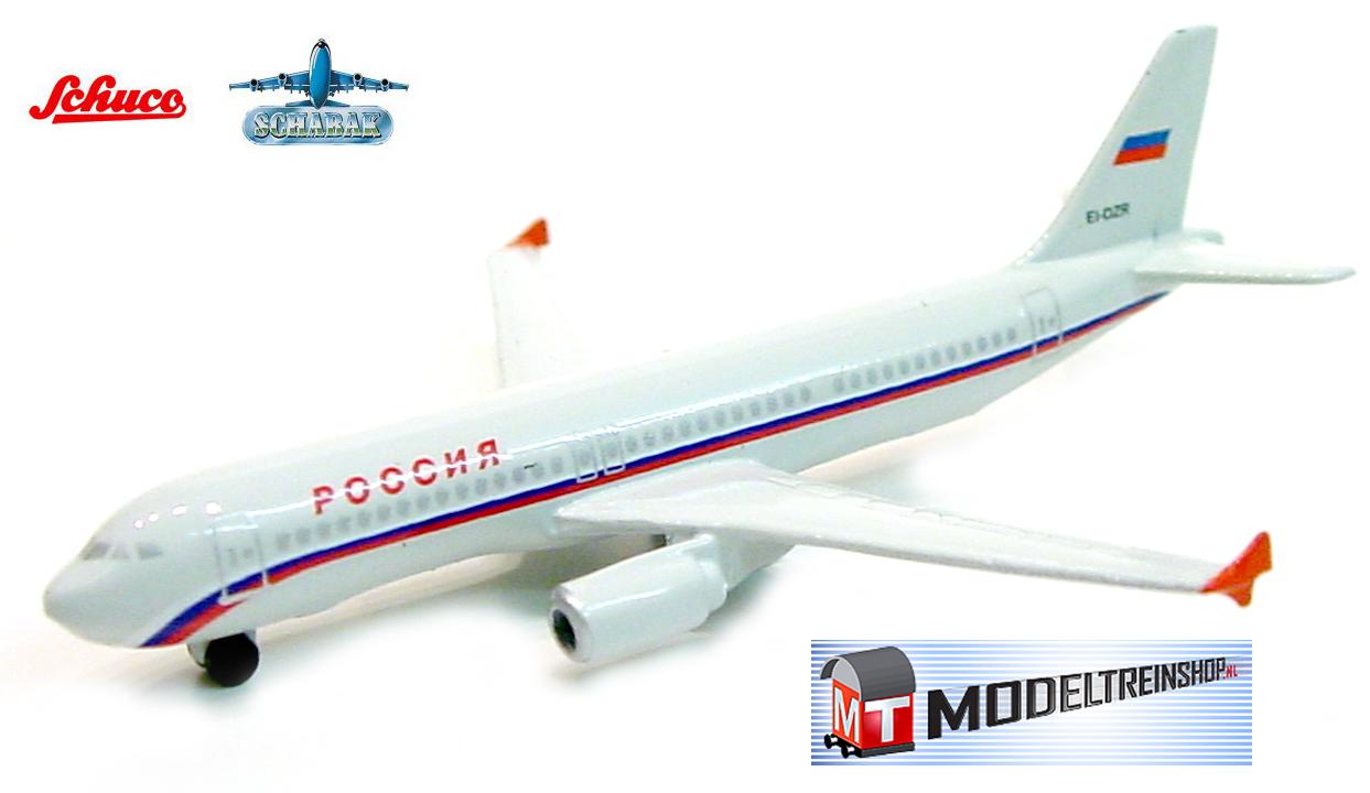 Schuco 3551585 Airbus A320 Rossiya Airlines - Modeltreinshop