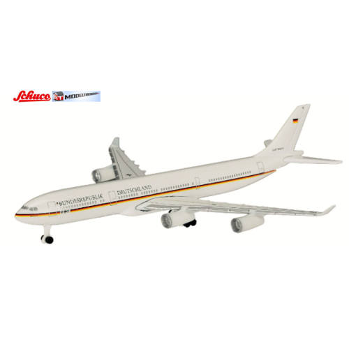 Schuco 3551666 Airbus A340-300 BRD K. Adenauer - Modeltreinshop