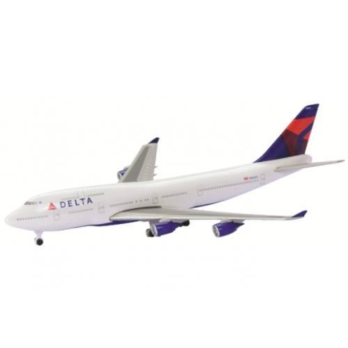 Schuco 3551671 Boeing 747-400 Delta Airlines - Modeltreinshop