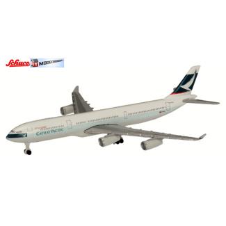 Schuco 3551672 Airbus A340-300 Cathay Pacific - Modeltreinshop