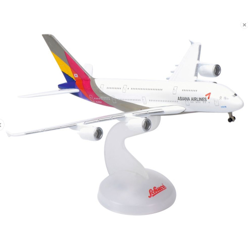 Schuco 3551676 Airbus A380-800 Asiana Airlaines - Modeltreinshop