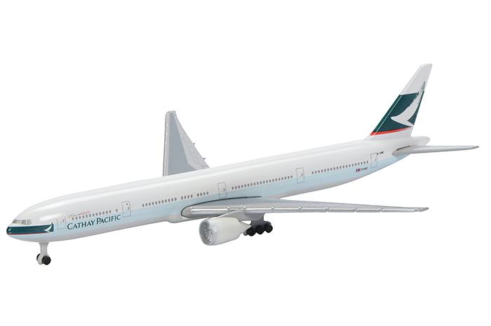 Schuco 3551679 Boeing 777-300 Cathay Pacific - Modeltreinshop