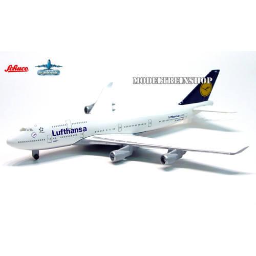 Schabak 3554135 Boeing 747 400 Lufthansa - Modeltreinshop