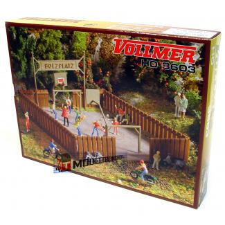 Vollmer HO 3603 Voetbal Plaats / Veld - Modeltreinshop