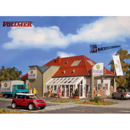 Vollmer HO 3950 Alnatura Biologische Supermarkt - Modeltreinshop