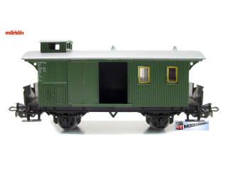 Marklin HO 4008 V3 Bagage Rijtuig - Modeltreinshop