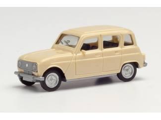 Herpa H0 020190-007 Renault R4 beige - Modeltreinshop