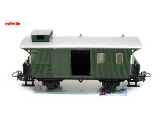 Marklin H0 4038 A2 Bagagerijtuig Pwi van de K.W.St.E. - Modeltreinshop