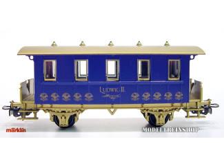 Marklin H0 41071 Reizigers Rijtuig Koning Ludwig II - Modeltreinshop