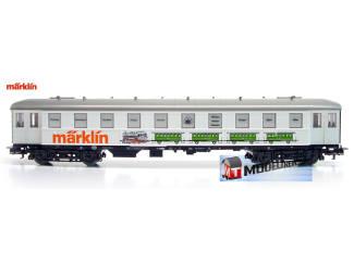 Marklin H0 4122 S1 Tentoonstelling Wagen Marklin 140 Jahre Bahnhof Göppingen - Modeltreinshop