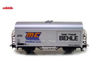 Marklin HO 4415 Gesloten Goederenwagen Mc Behle - Modeltreinshop