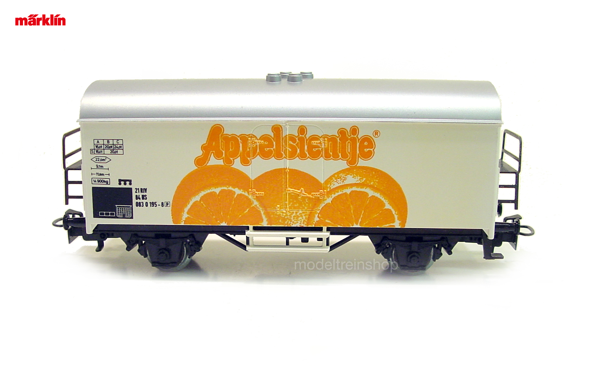 Marklin H0 844158 4415 V2 Gesloten Goederenwagen Appelsientje – NS Modeltreinshop
